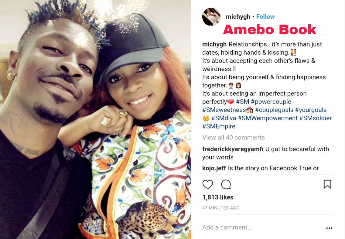Shatta Michy Says Relationships More Than Just Dates And Holding Hands (2)