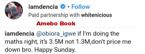 Dencia Slammed Man Who Said She Was Rocking N1.3M Gucci (3)