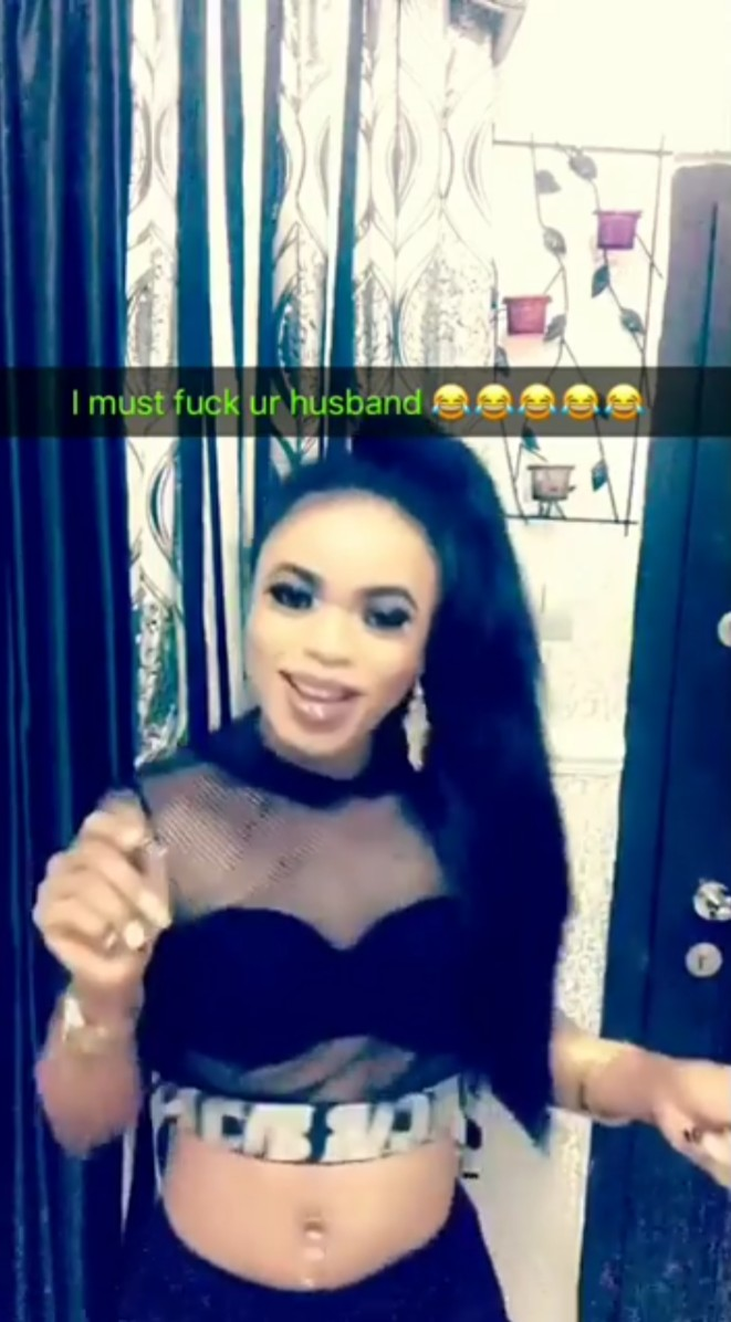 Bobrisky Vows He Must Sleep With Husbands