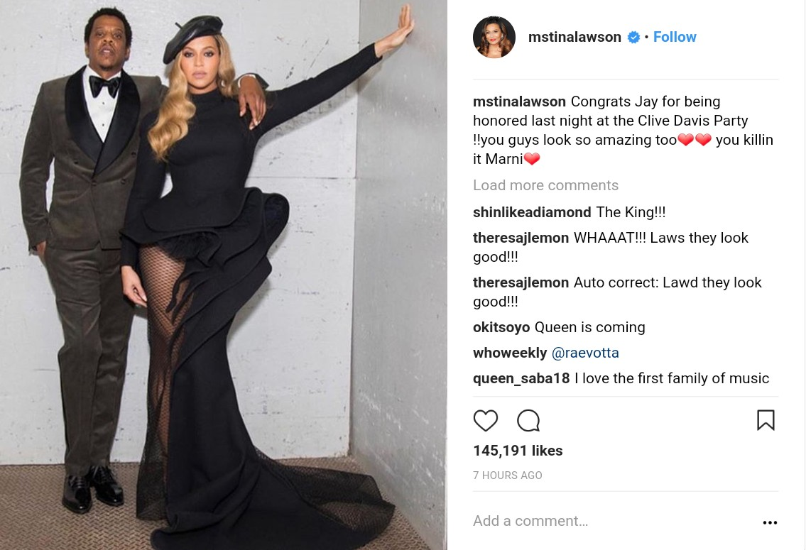 Tina Knowles Gushes Over Photos Of Jay-Z And Bey (3)