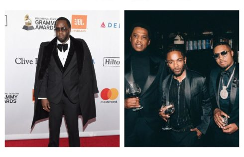 P Diddy Savagely Photoshopped French Montana Out Of Photo