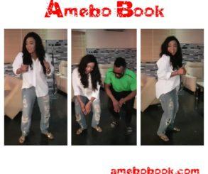 Rachael Okonkwo Rocks Ripped Boyfriend Jeans