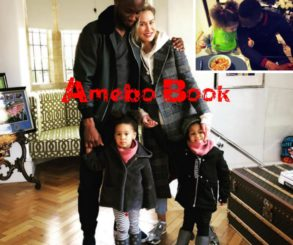 Mikel Obi And His Family In Stunning Family Shoot