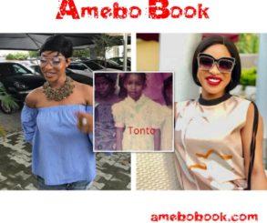 Throwback Of Tonto Dikeh As A Little Girl
