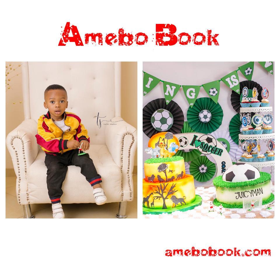 Tonto Dikeh Celebrates Her Son's 2nd Birthday
