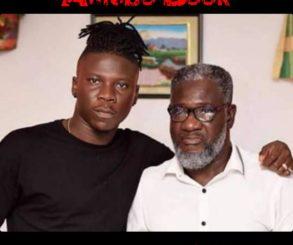 Stonebwoy Visits Ebony Reigns Father
