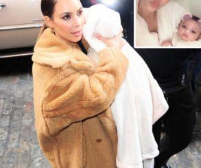 Kim Kardashian Shares First Photo Of Baby Girl Chicago