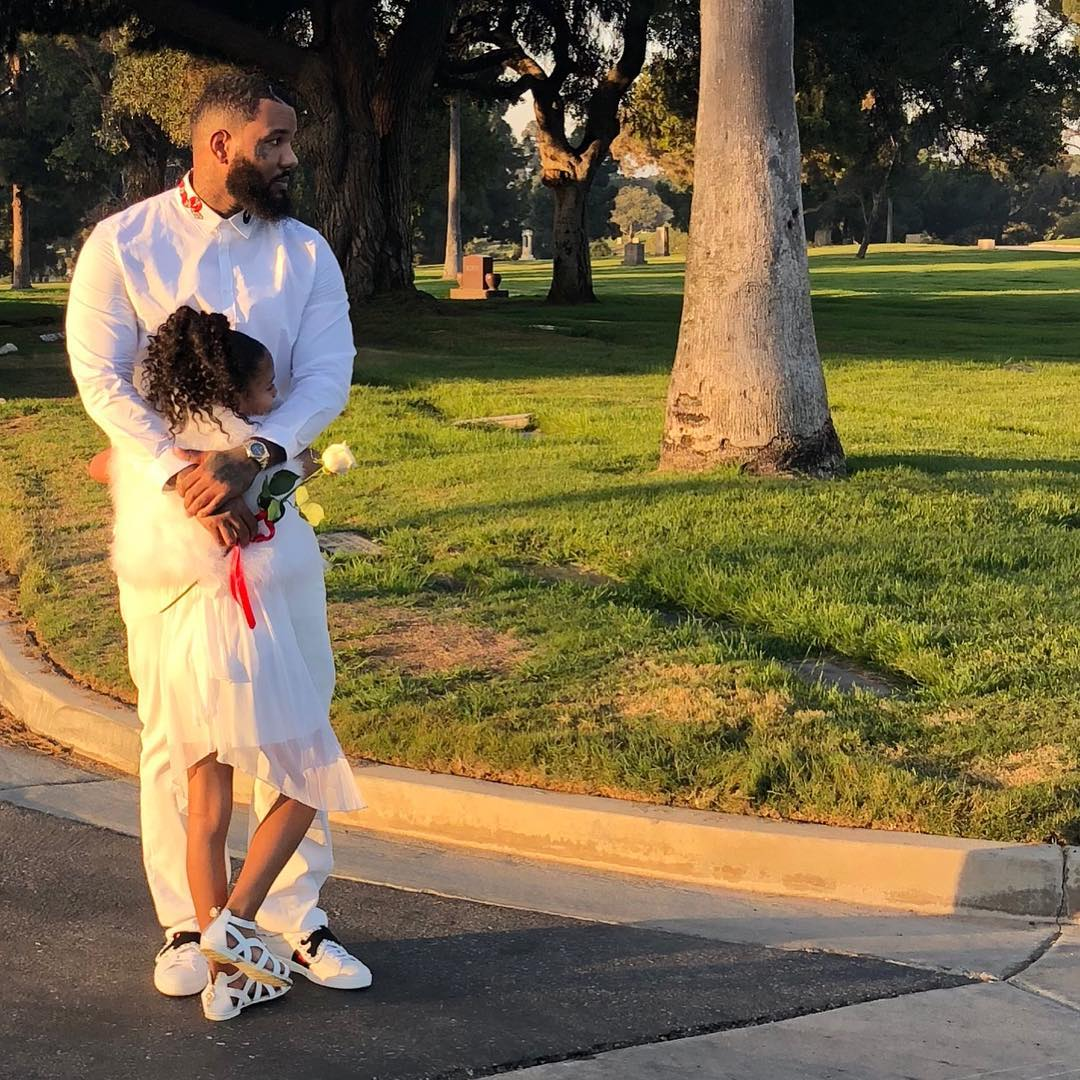 The Game Shares Photos From Dad's Funeral (3)
