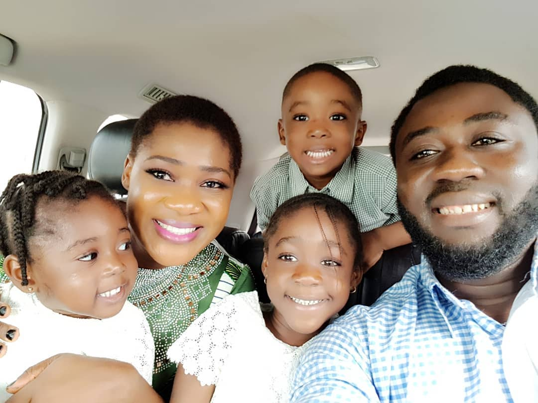 Mercy Johnson Flashes Big Smile In Stunning Family Shoot (2)