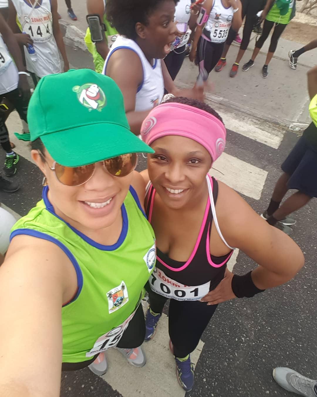 Monalisa Chinda Lagos Marathon 2018 (3)