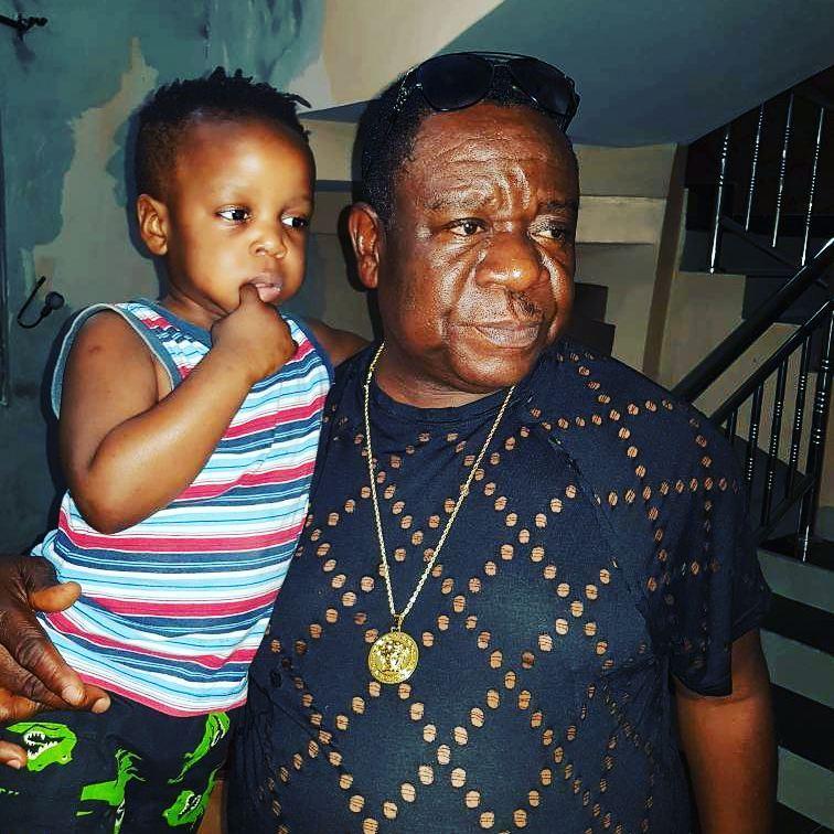 John Okafor Celebrates Son's Birthday (2)