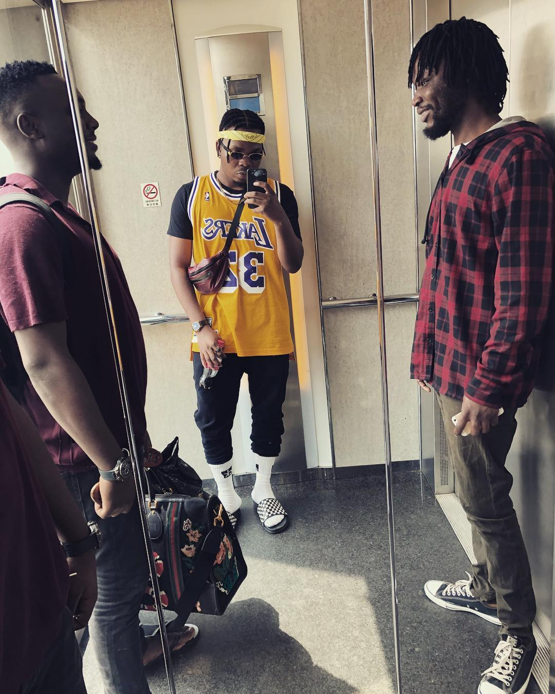Olamide Shows Off New Hairstyle (3)