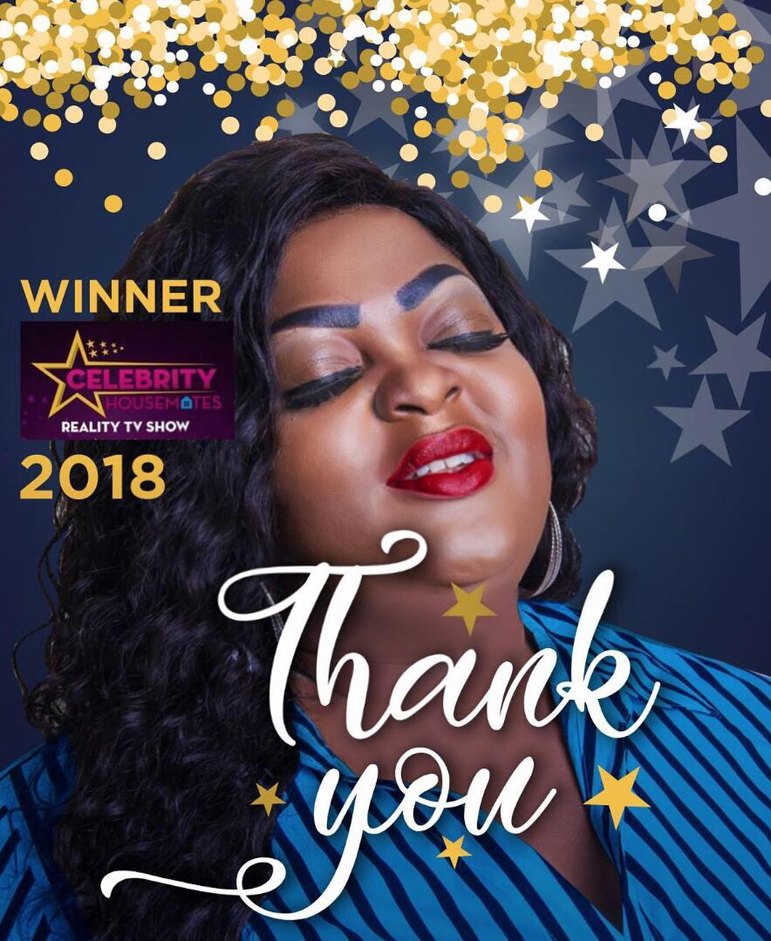 Eniola Badmus Thanks Fans For Support After Winning 2018 Celebrity Housemate (2)