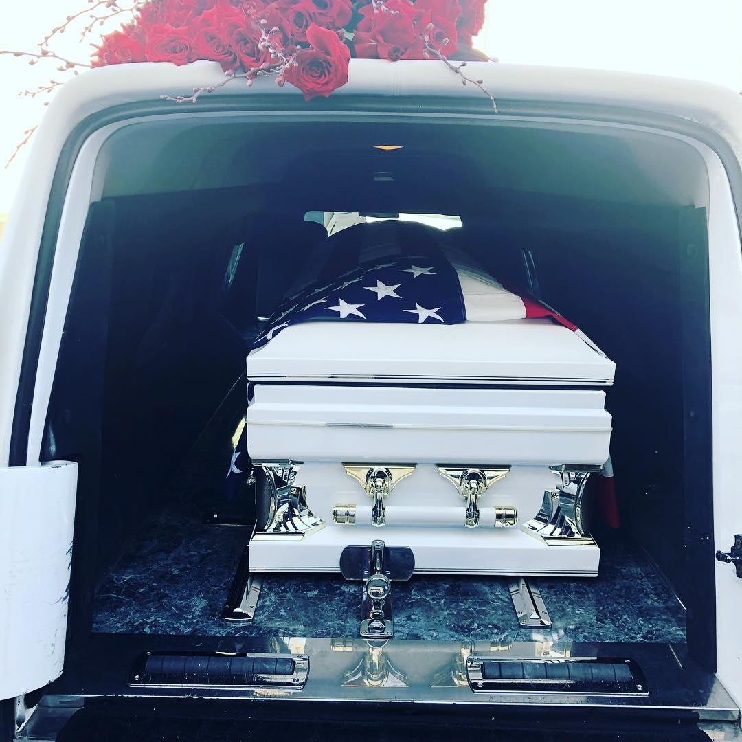The Game Shares Photos From Dad's Funeral (2)