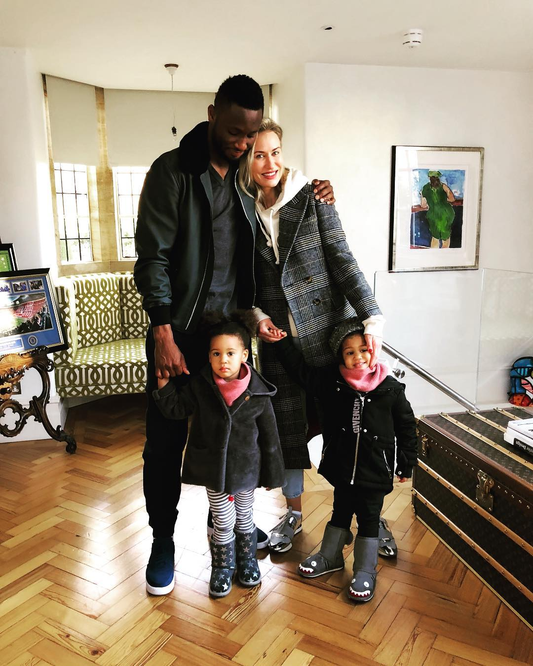 Mikel Obi And His Family In Stunning Family Shoot (2)