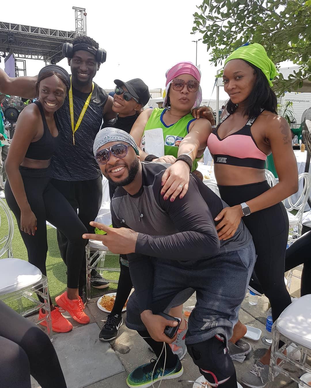 Monalisa Chinda Lagos Marathon 2018 (2)