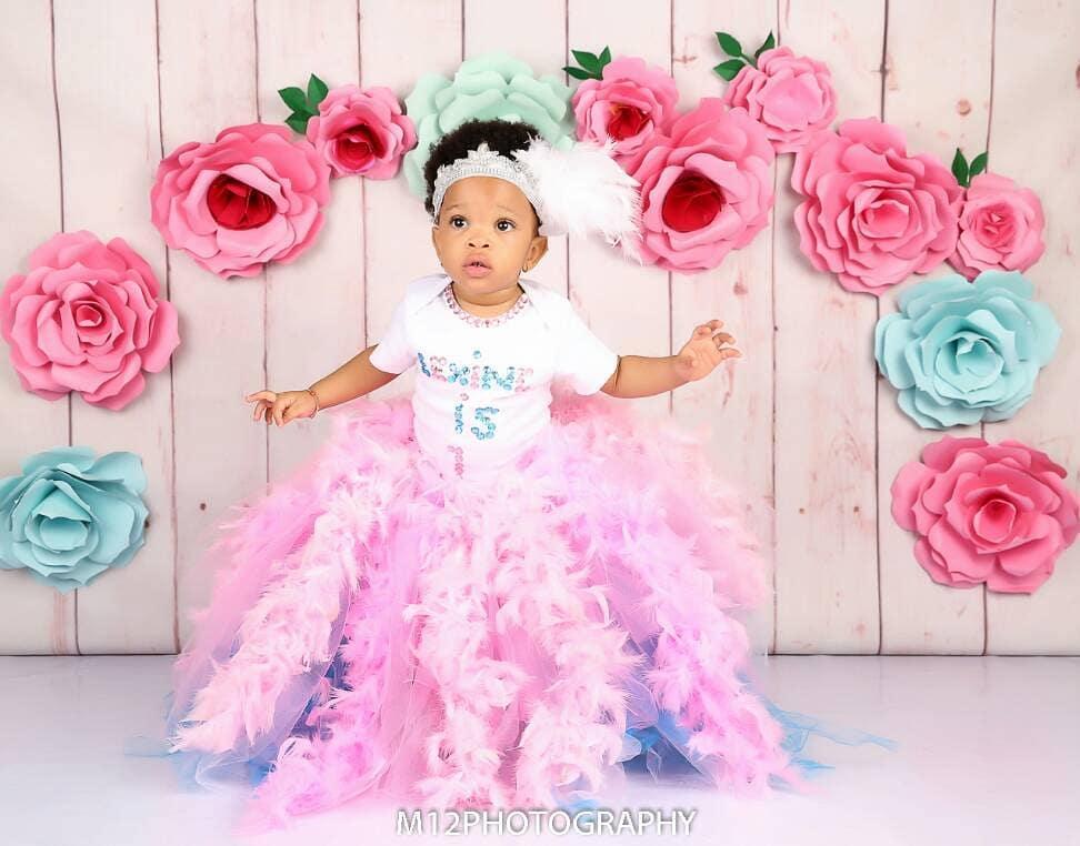 Lexine Dumlesi Yobo 1st Birthday