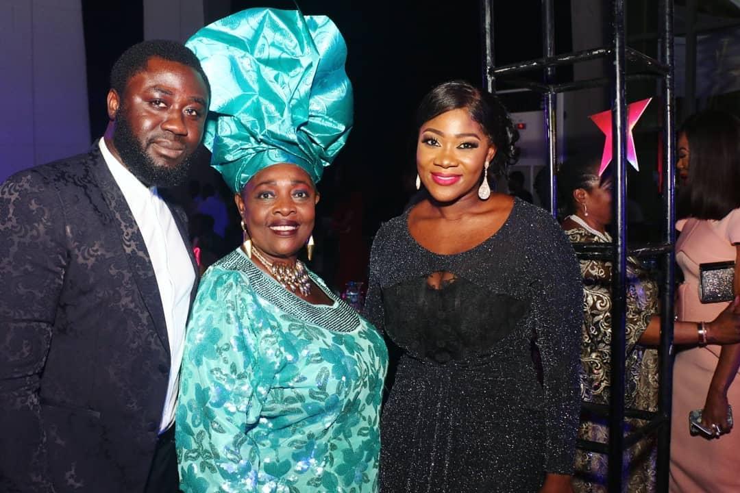 Madam Kofo Pictured With Mercy Johnson And Prince Odi Okojie (2)