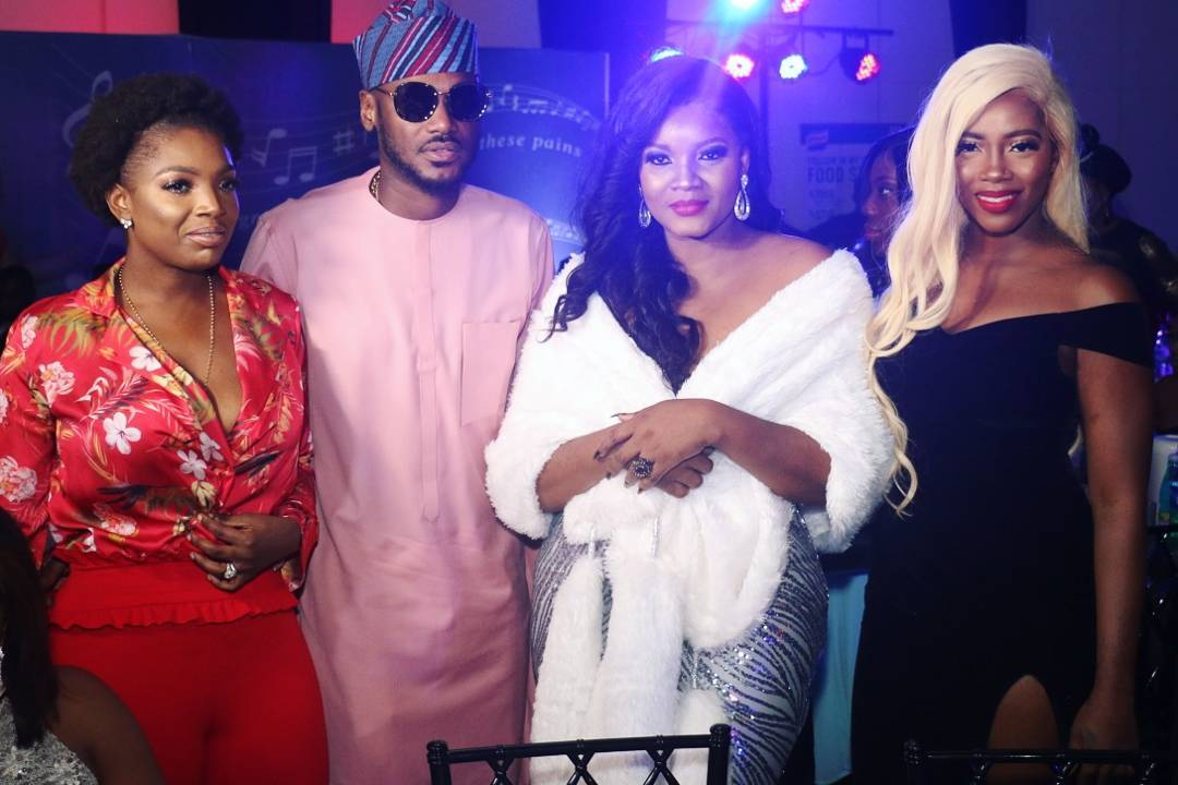 Omotola Jalade Refers To Tuface And Tiwa Savage As King And Queen Of African Music (2)