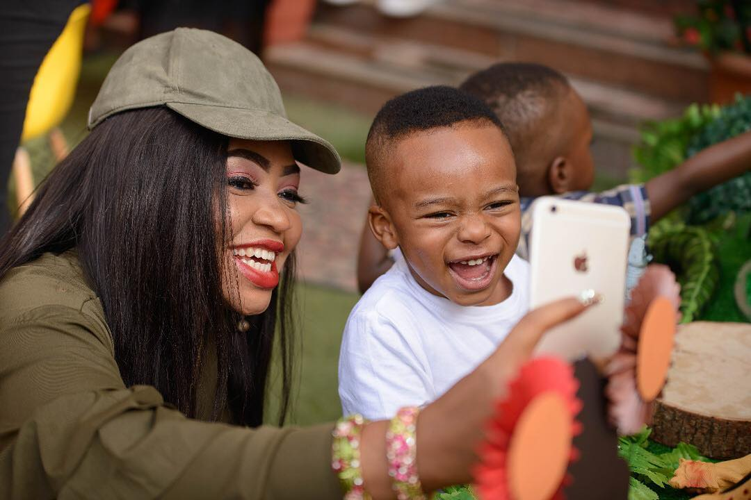 Tonto Dikeh Says She Will Give Her Son The World And More (2)