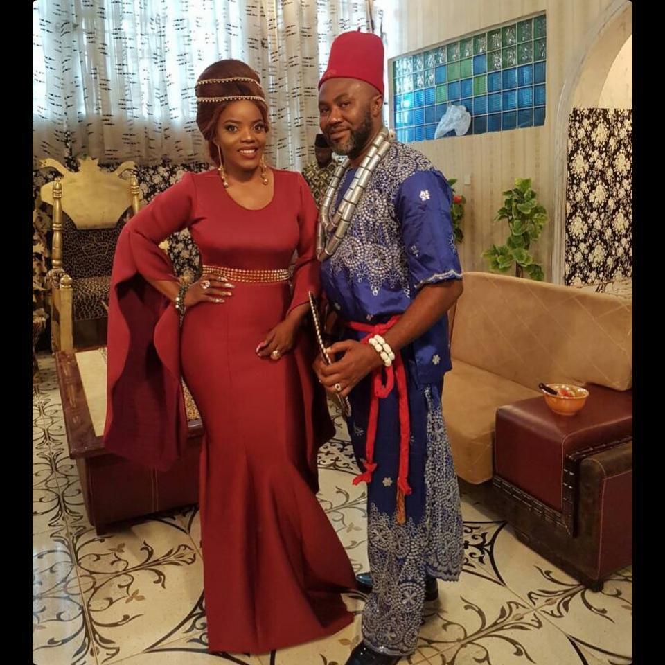 Empress Njamah And Uche Odoputa On Set Dance To Love