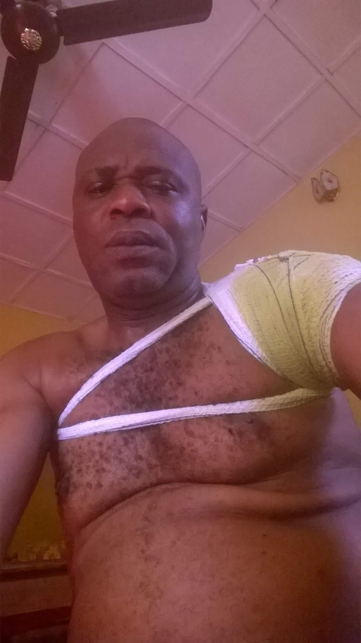 Nigerian Father Cries Out After Being Mercilessly Beaten Up By Son Over More Money (3)