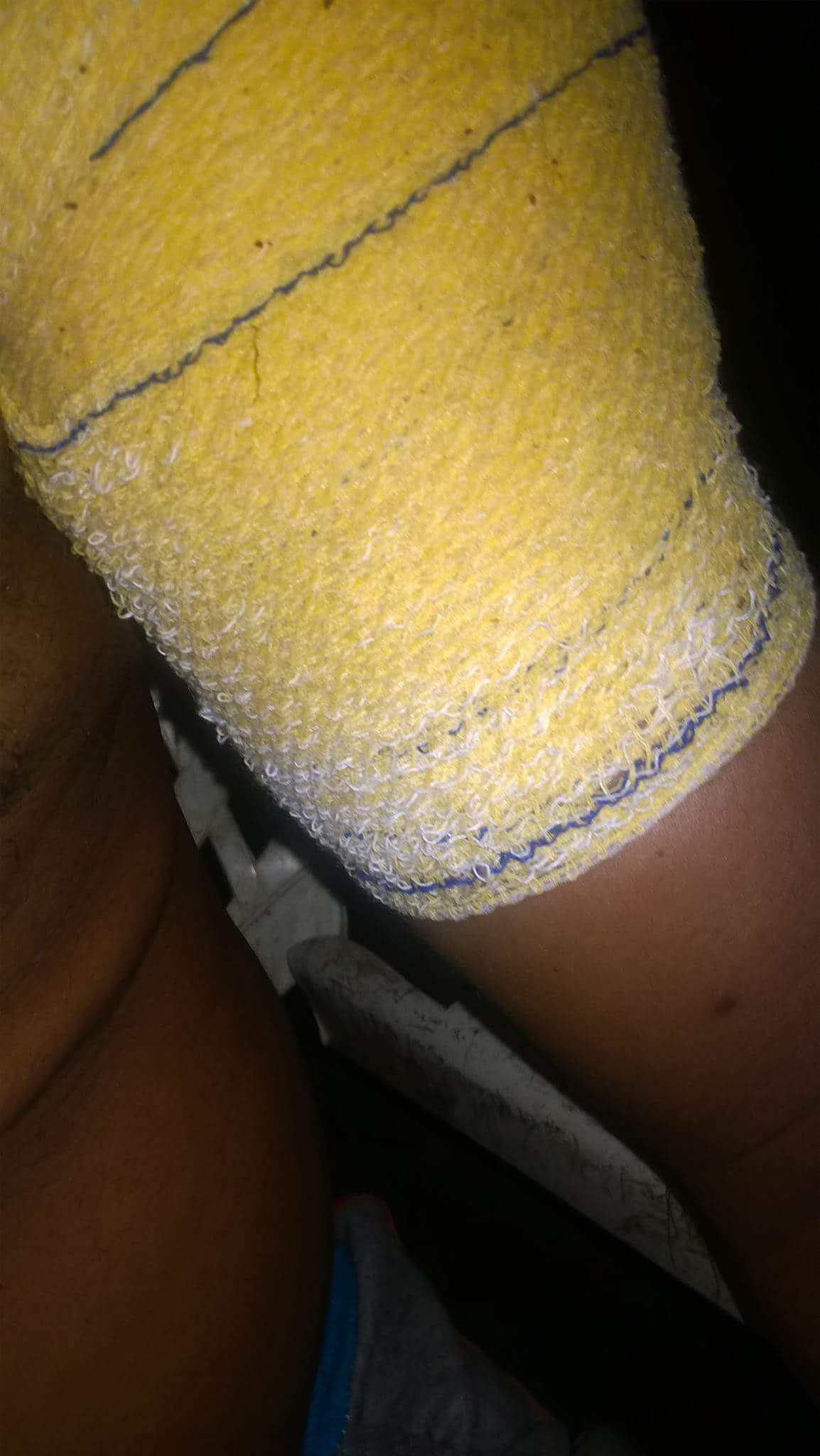 Nigerian Father Cries Out After Being Mercilessly Beaten Up By Son Over More Money (4)