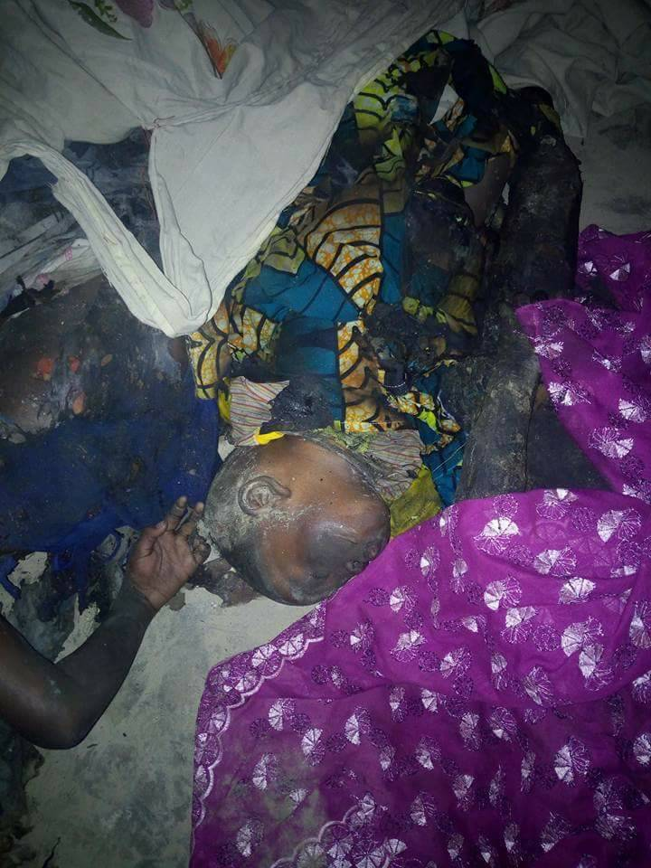 Mother And Her Four Kids Burnt To Death Following Midnight Fire (3)