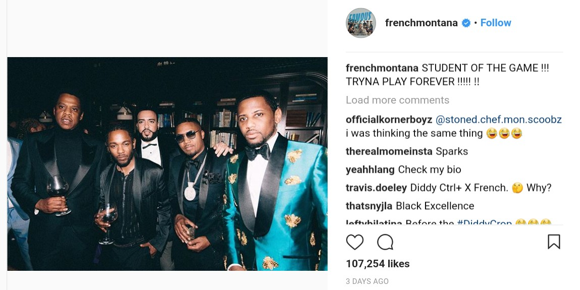 P Diddy Savagely Photoshopped French Montana Out Of Photo (3)