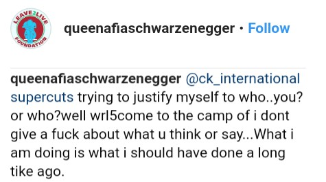Afia Schwarzenegger Says Never Let A Man Put His Hands On You Without Your Permission (4)