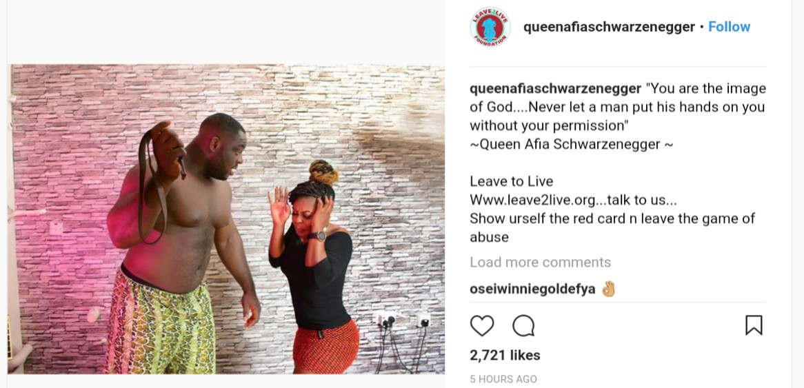 Afia Schwarzenegger Says Never Let A Man Put His Hands On You Without Your Permission (2)