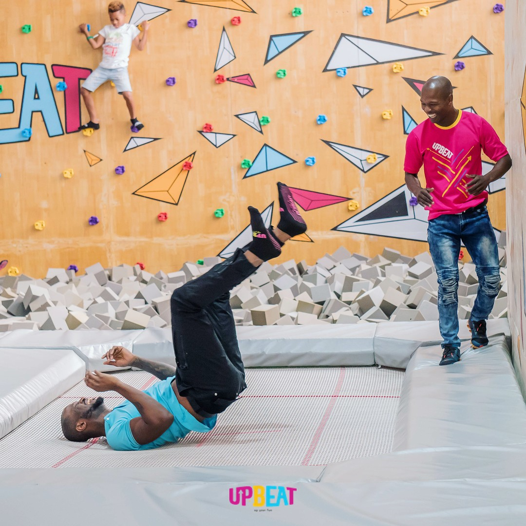 Peter Okoye Chilling At Upbeat Centre (2)