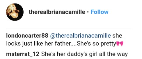 BrianaCamille Thinks Daughter Hermes Is Starting To Look More Like Her And Not Rick Ross (6)