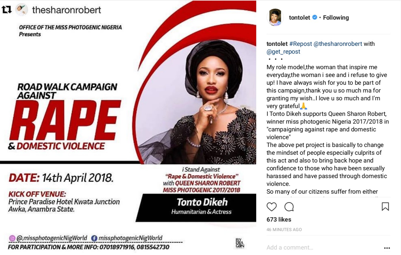 Tonto Dikeh Says She Will Give Her Son The World And More (3)