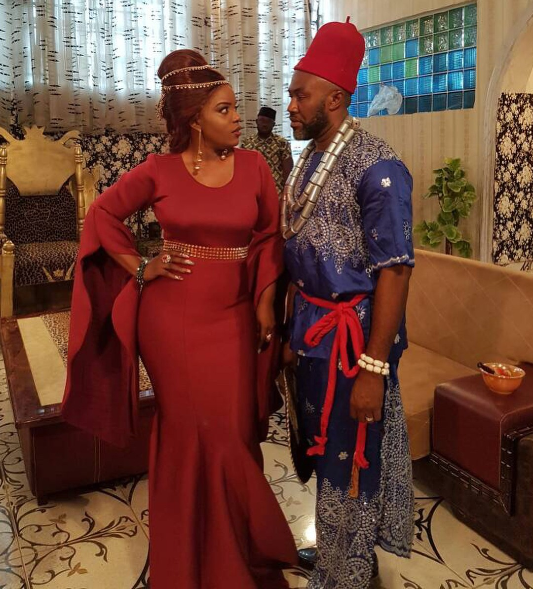 Empress Njamah And Uche Odoputa Slay On Set Of Dance To Love