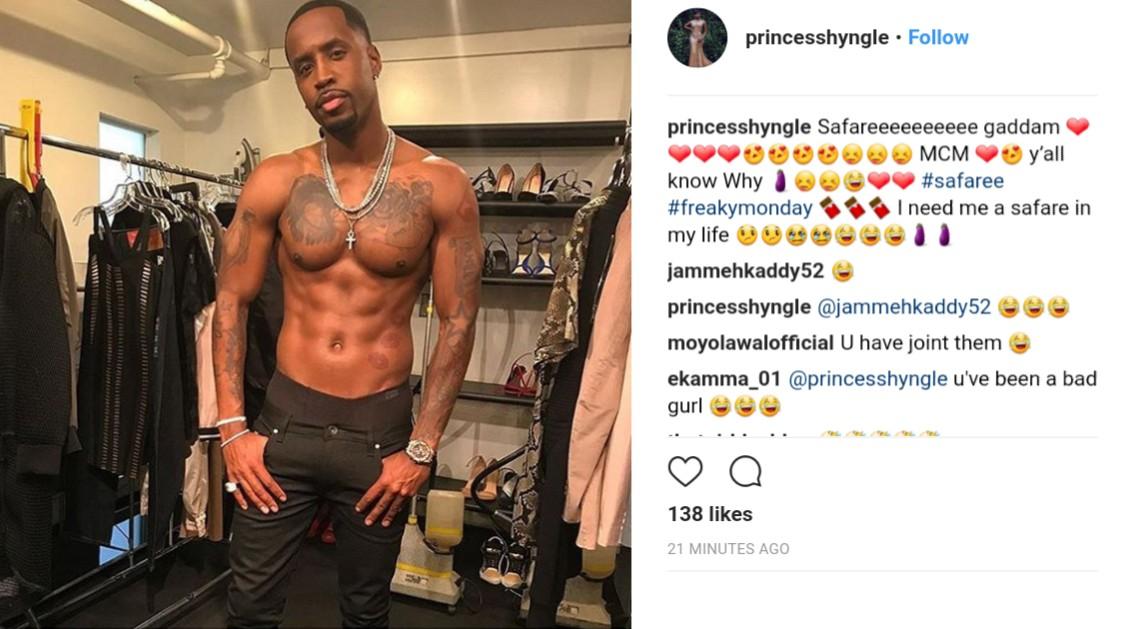 Princess Shyngle Makes Safaree Samuels Her Man Crush Monday (2)