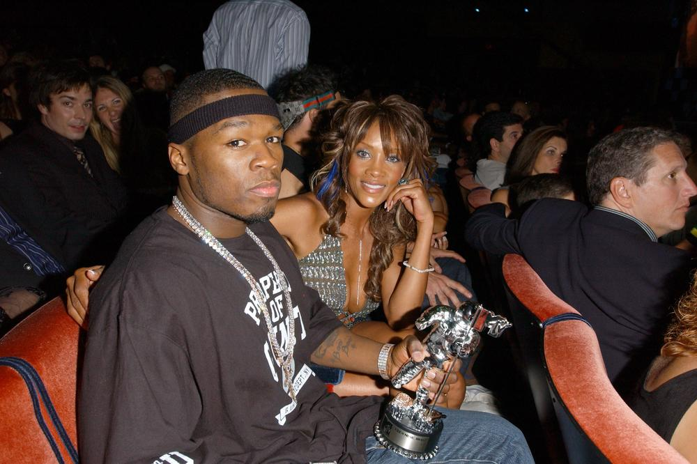 50 Cent And Vivica A. Fox While They Were Dating
