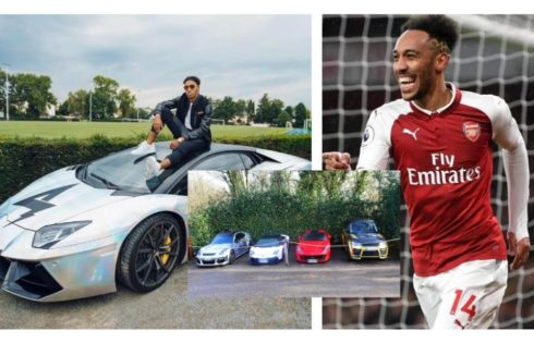 Pierre-Emerick Aubameyang's Car Collection