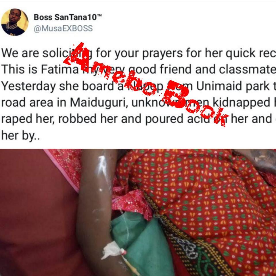 University of Maiduguri Nursing Student Kidnapped