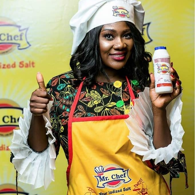 Mercy Johnson Becomes Brand Ambassador For Mr Chef Iodised Salt (5)