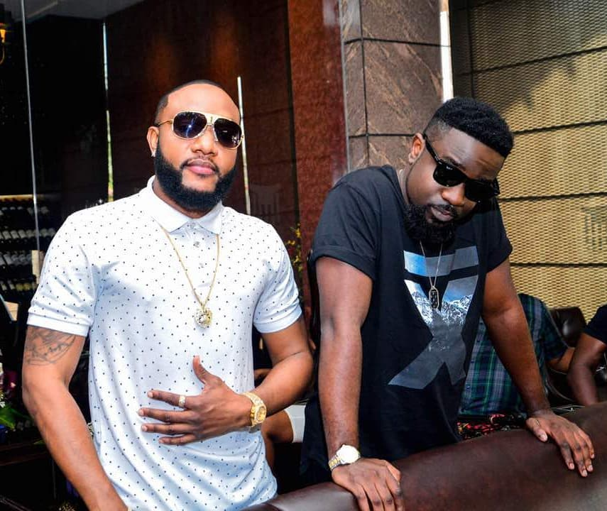 Kcee And Sarkodie Pictured Together