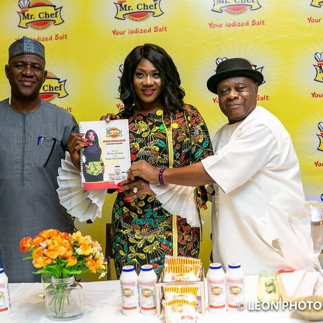 Mercy Johnson Becomes Brand Ambassador For Mr Chef Iodised Salt
