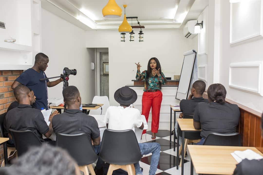 Nana Ama McBrown Lands Teaching Job At NyoNyo Essentials (3)