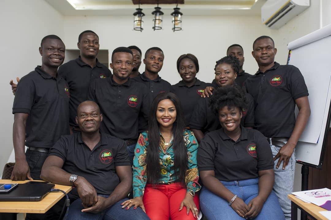 Nana Ama McBrown Lands Teaching Job At NyoNyo Essentials (5)