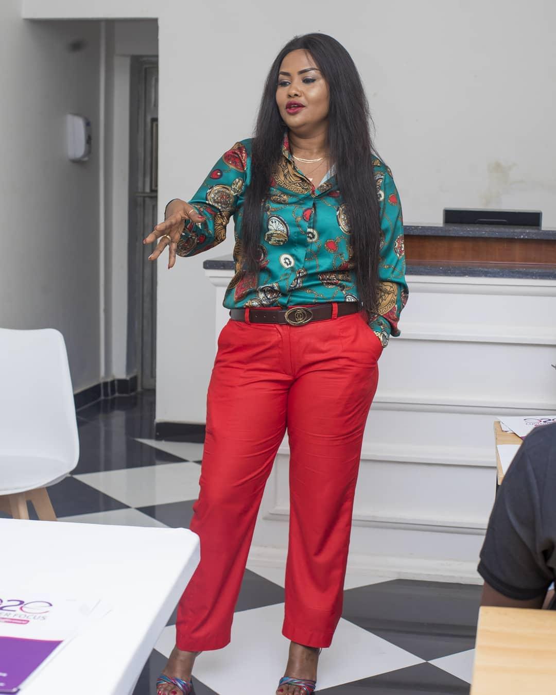 Nana Ama McBrown Lands Teaching Job At NyoNyo Essentials (2)