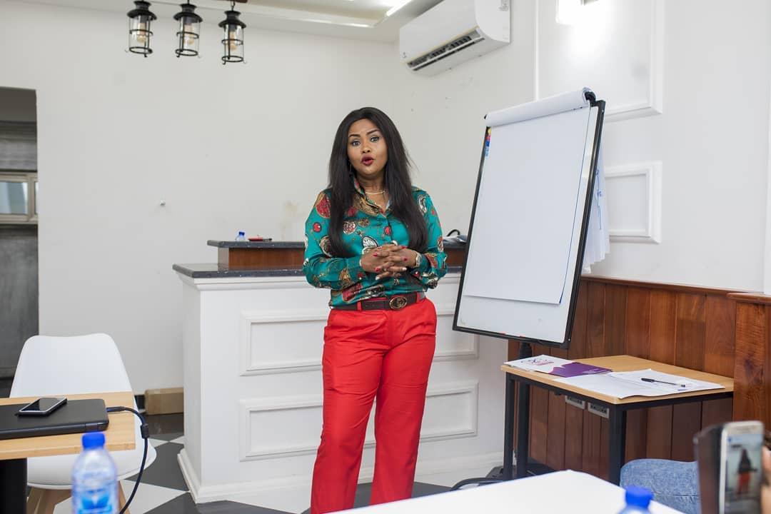 Nana Ama McBrown Lands Teaching Job At NyoNyo Essentials (4)