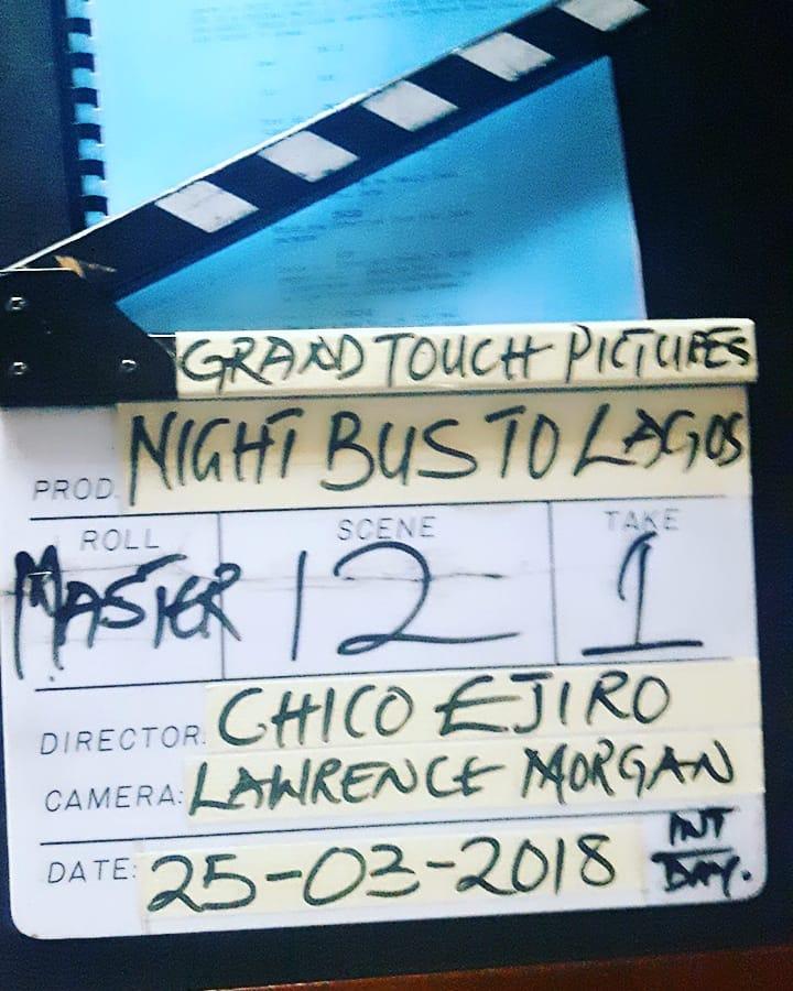 Monalisa Chinda And Bolanle Ninalowo Loved Up On Set Night Bus To Lagos (4)