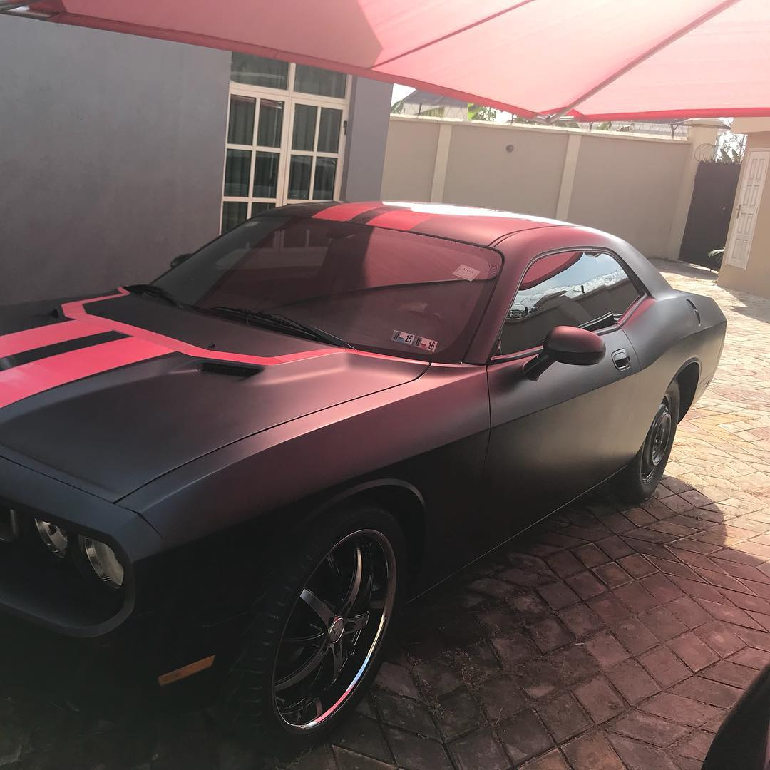 Chevrolet Camaro Kiss Daniel Gifted His Brother (2)