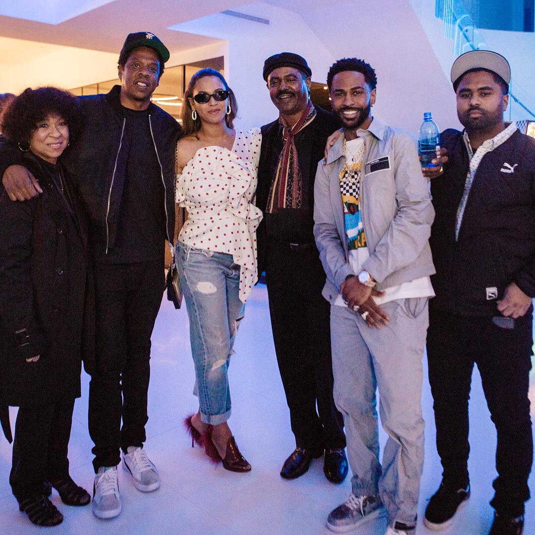 Beyonce Parties With Husband Jay-Z At Big Sean's 30th Birthday Bash (2)
