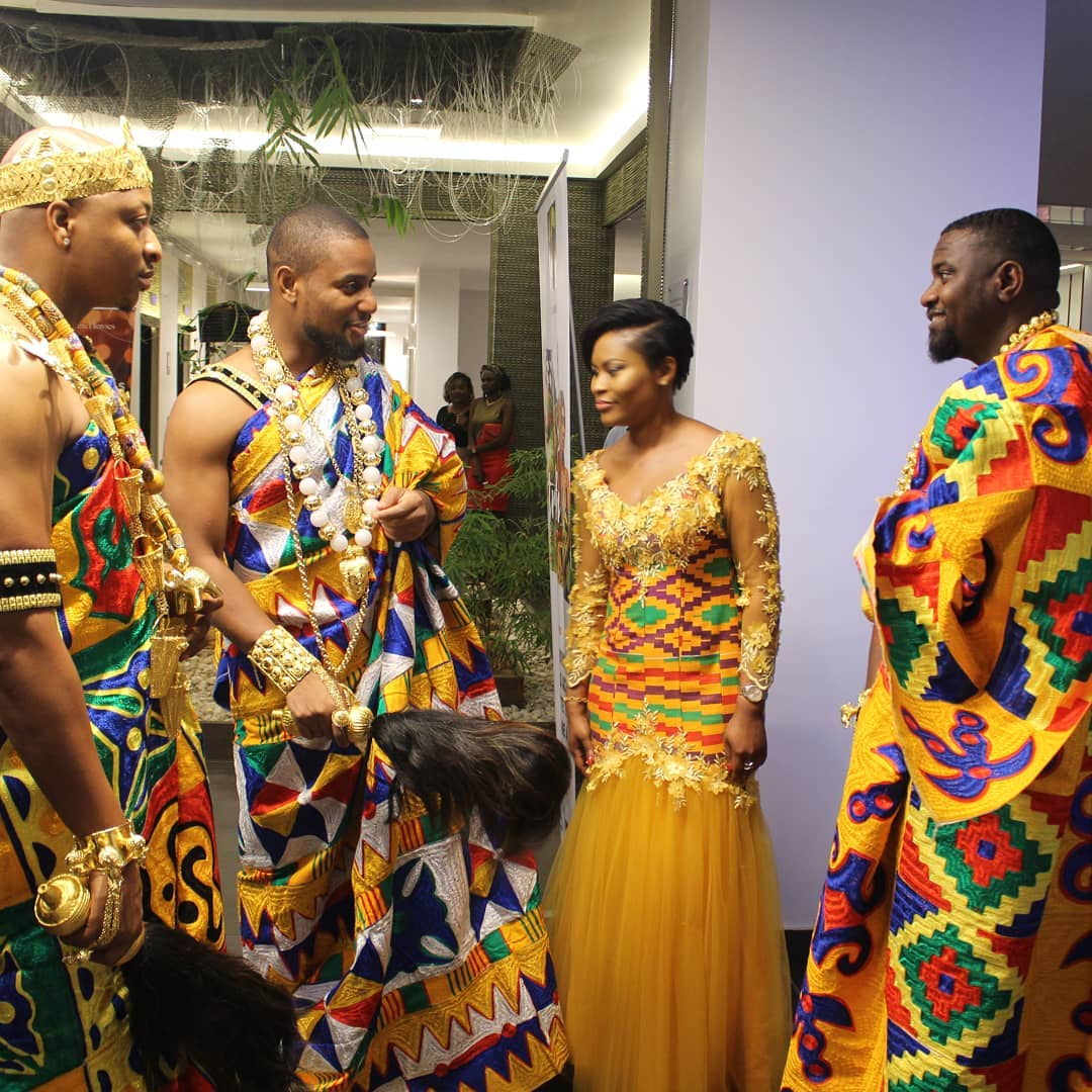 John Dumelo Alongside IK Ogbonna And Alex Ekubo Slay In Traditional Ivorian Attires (2)